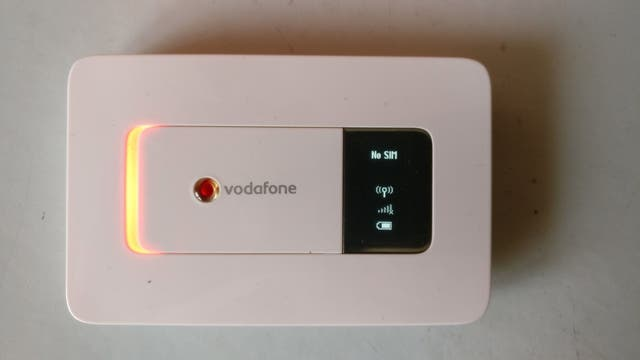 Vodafone mifi R201 mobile wifi de segunda mano por 29 € en Soria en