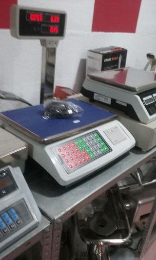 balanza bascula digital nuevas con ticket