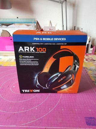 Cascos PS4 TRITON ARK 100