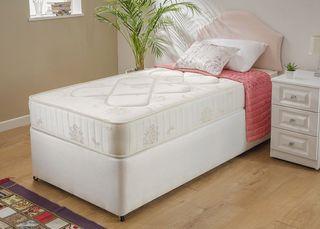 2 camas con colchon ortopedico
