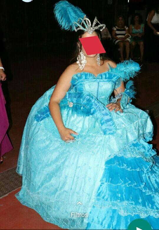 vestido de novia gitana de segunda mano por 500 € en cuéllar en wallapop