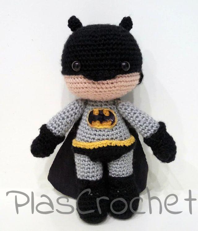 Ravelry: Batman Amigurumi pattern by Serah Basnet   748x640