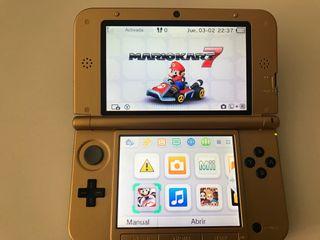 Nintendo 3ds xl+ 2 juegos