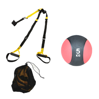 Pack TRX+balon medicinal 5kg