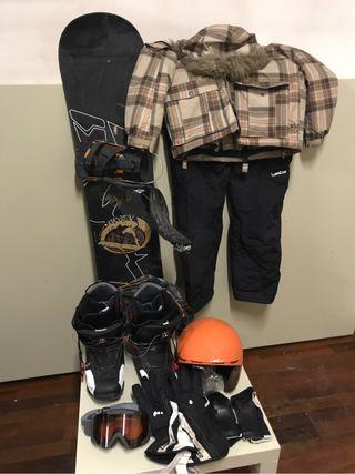 Equipacion snowboard
