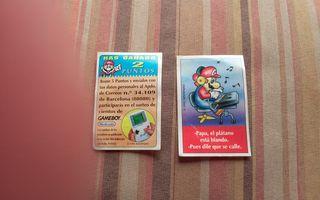 Pegatinas Game Boy Nintendo Bimbo