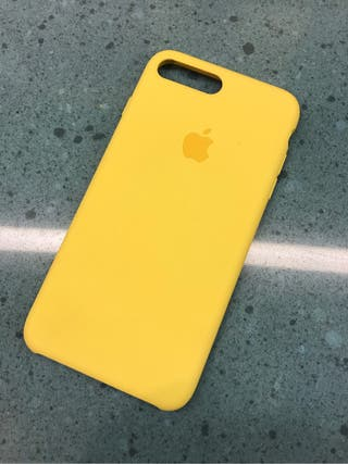 carcasa iphone 8 plus amarilla