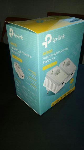 Extensor LAN red electrica TPLINK TL-PA4010P kit