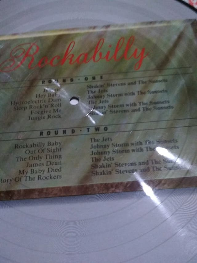 rockabilly recopilatorio picture disc