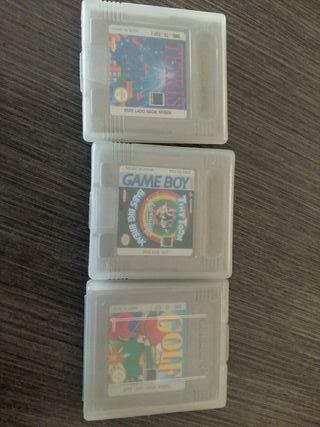 juegos Gameboy a 8€ la unidad