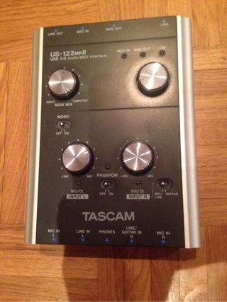 Tascam Us-122MK II Tarjeta de sonido