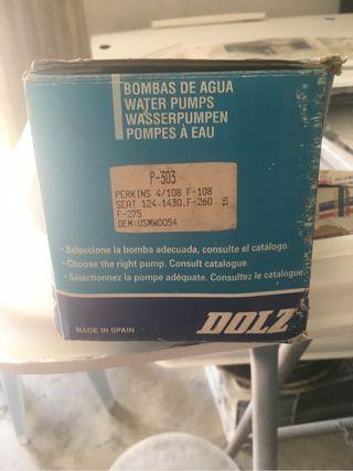 Bomba de agua ebro-avia perkin