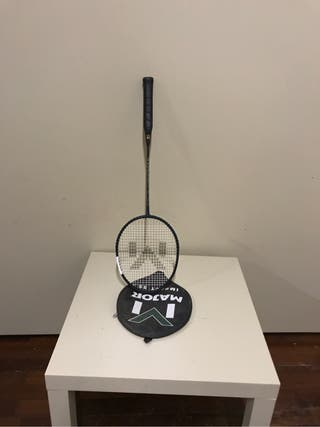 Raqueta bádminton y funda