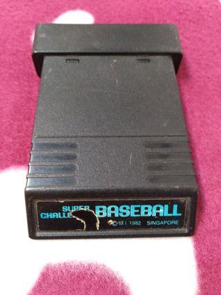 Juego Atari VCS 2600 Mattel BASEBALL