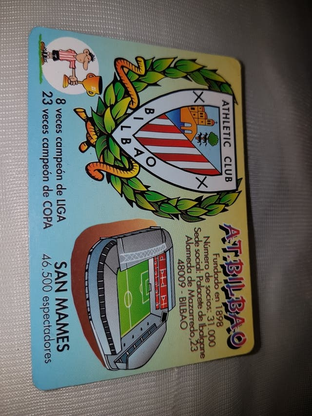 Athletic Club Bilbao Calendario.Calendario Del Athletic De Bilbao Ano 2000 De Segunda Mano