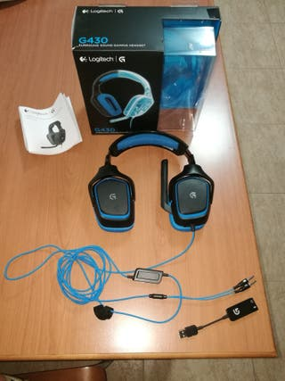 Cascos Gaming Logitech G430 ( Nuevos )