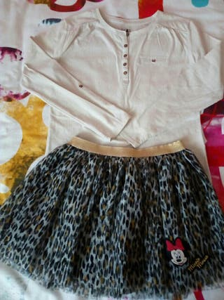 Camiseta Tul Falda regalo Minnie Falda Tul EwZdXqWx