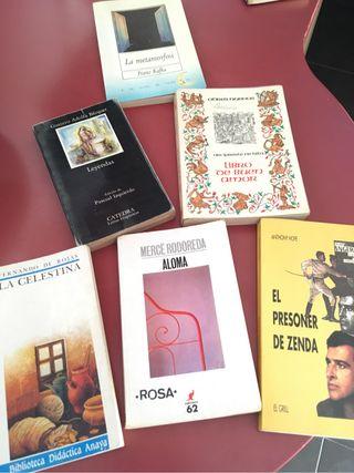 Libros clásicos , 3EUROS CADA LIBRO