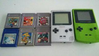 Consolas y juegos nintendo gameboy color y pocket