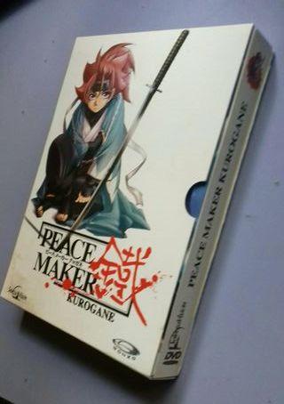 serie dvd PEACE MAKER KUROGANE