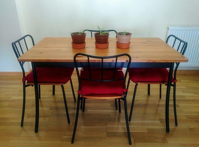 Mesa de comedor con 4 sillas IKEA de segunda mano por 130 € en La ...