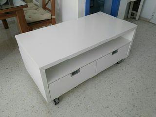 Mesa bajo televisor cajonera