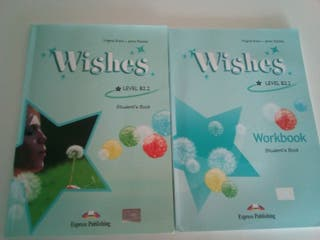 Libro Wishes level B2.2 student's book y workbook