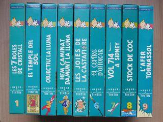 PELICULAS VHS LES AVENTURES DE TINTIN