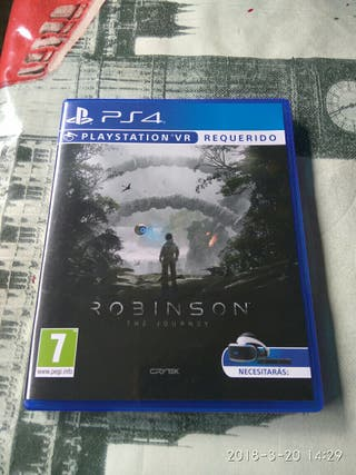 juego PS4. VR requerido