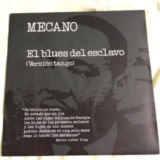 """Disco VINILO MECANO EL BLUES DEL ESCLAVO 7"""" single"""