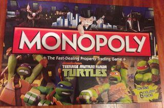Monopoly - Tortugas Ninja