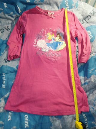 Vestido, pijama o Camiseta Princesa Disney