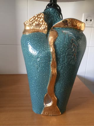 Pie de lampara porcelana diseño