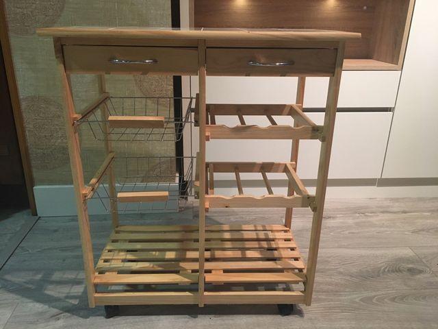 Mueble auxiliar cocina de segunda mano por 60 € en Durango en WALLAPOP