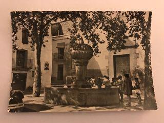 CIRAT (Castellon) Postal No.9 Plaza De la Iglesia