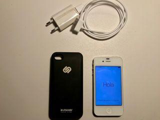 Iphone 4S 16GB blanco LIBRE