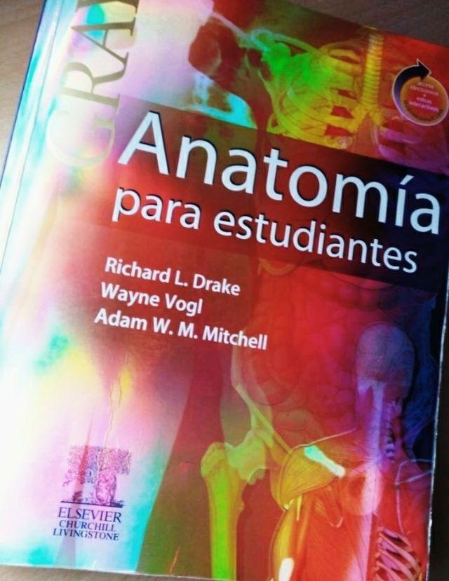 Atlas de Anatomía GRAY tapa dura medicina y enferm de segunda mano ...