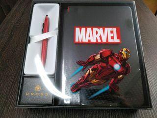 Libreta con bolígrafo Iron Man