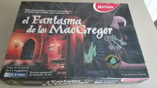 Juego de mesa el fantasma de los macgregor