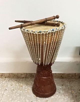 Djembe tambor africano 60 cm