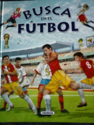 Libro infantil fútbol