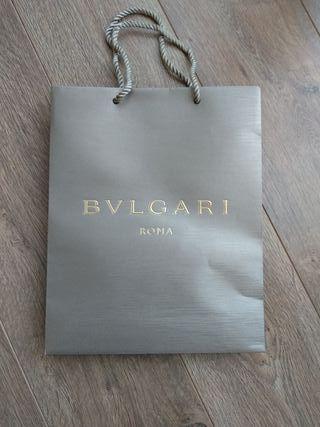 Bulgari. Bolsa de papel.