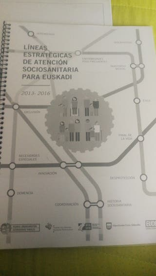 líneas estratégicas sciosanitaria para Euskadi