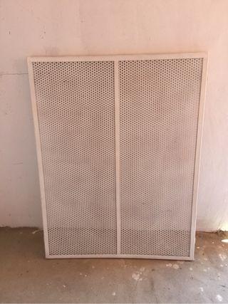 Reja panel de hierro