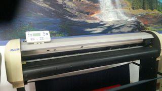 impresora ecosolvente y plotter de corte vinilo