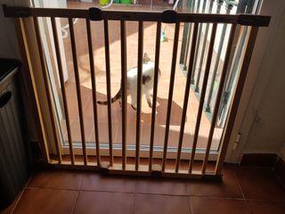 valla de seguridad para niños