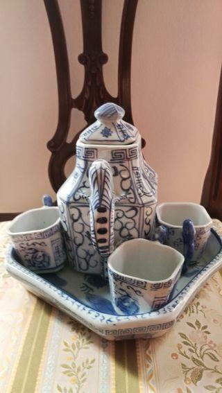 juego de te chino ,porcelana de calidad