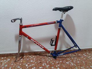 Cuadro Bici Carretera + Llantas