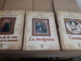 3 libros benito perez galdós