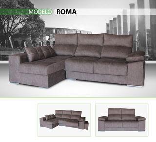 Sofá modelo Roma 3 plz cheiss